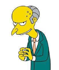 Mr. Bezos, er, Burns.