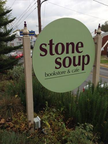 stone soup sign