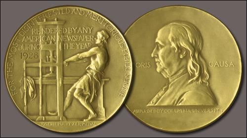 Pulitzer prizes journalism literary work of art