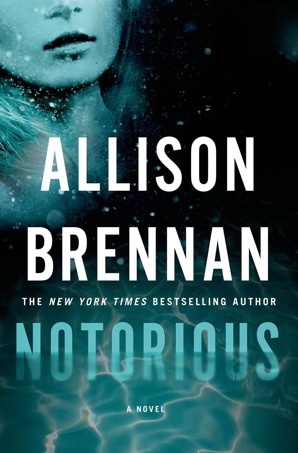 Cover of Notorious by Allison Brennan