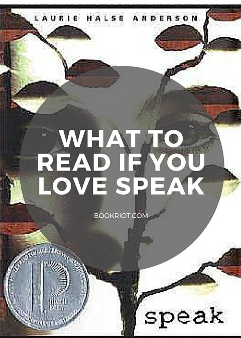 Beyond The Bestsellers So Youve Read Speak By Laurie Halse Anderson