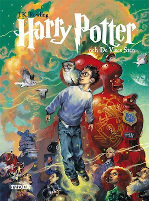 The new harry potter book