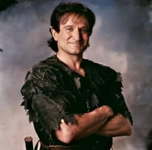 Robin Williams' most bangarang bookish roles.