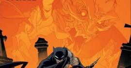 Dracula on a Batman cover.