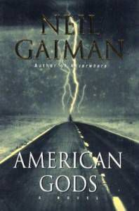 American_gods cover by Neil Gaiman