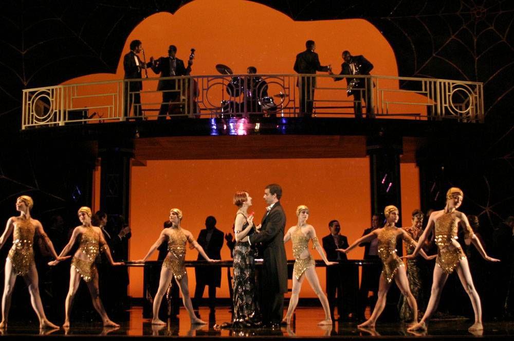 Scene from La Traviata