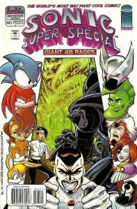 Sonic Super Special #7 (1998) Cover