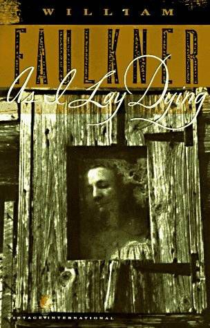 book cover of As I Lay Dying by William Faulkner