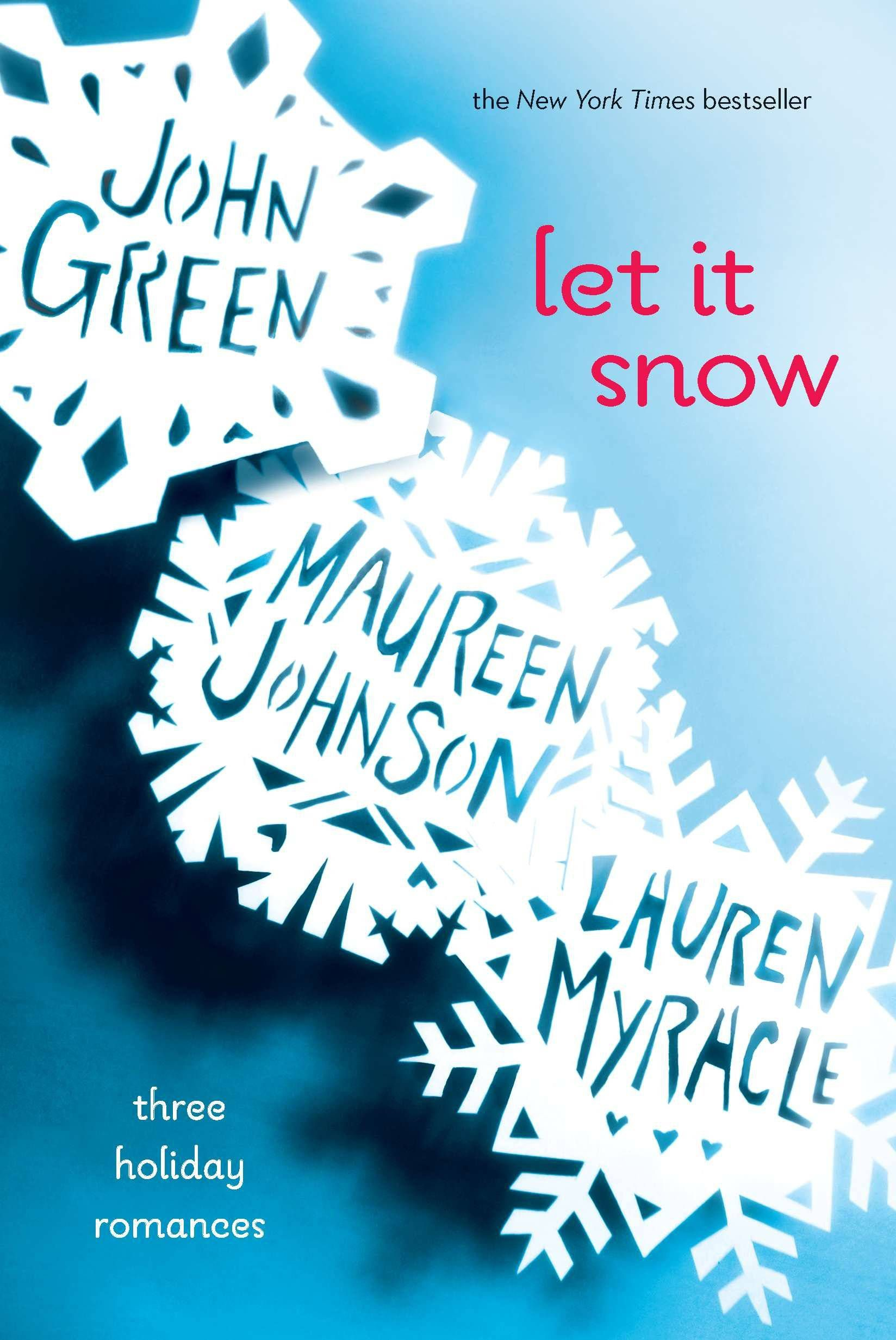 Capa do livro Let It Snow