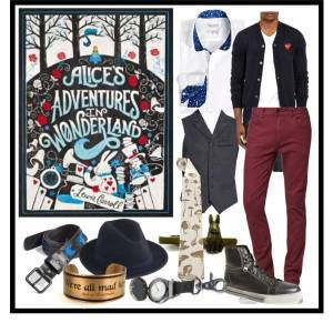 Book Style: Alice in Wonderland Men's Version