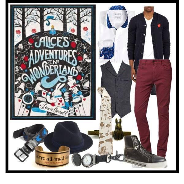 Book Style: Alice in Wonderland Men's Version