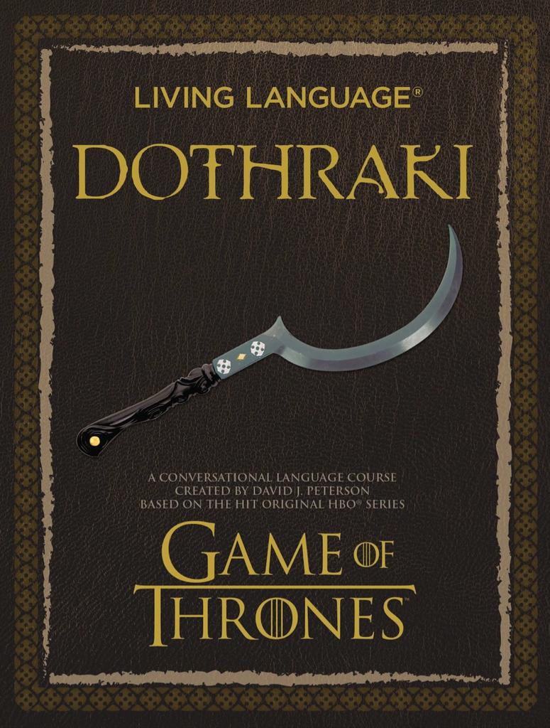 dothraki course