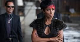 Jada Pinkett Smith with her arms crossed