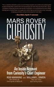 mars rover curiosity - rob manning