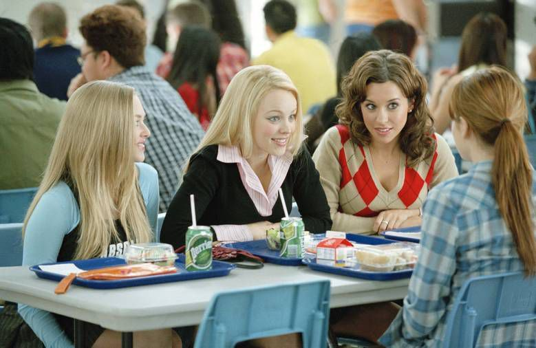 Scene from Mean Girls in 10 Movies You Didn't Know Were Based on Books | BookRiot.com