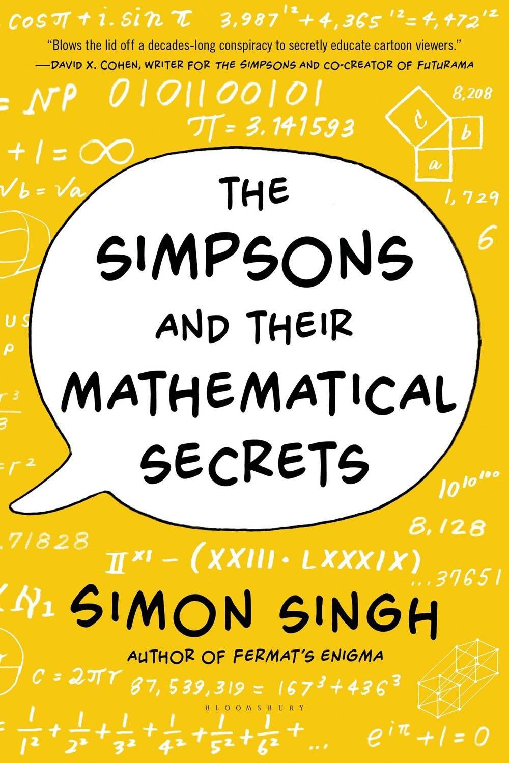 simpsons - simon singh