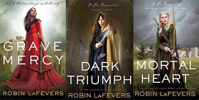 his fair assassin trilogy by robin lafevers