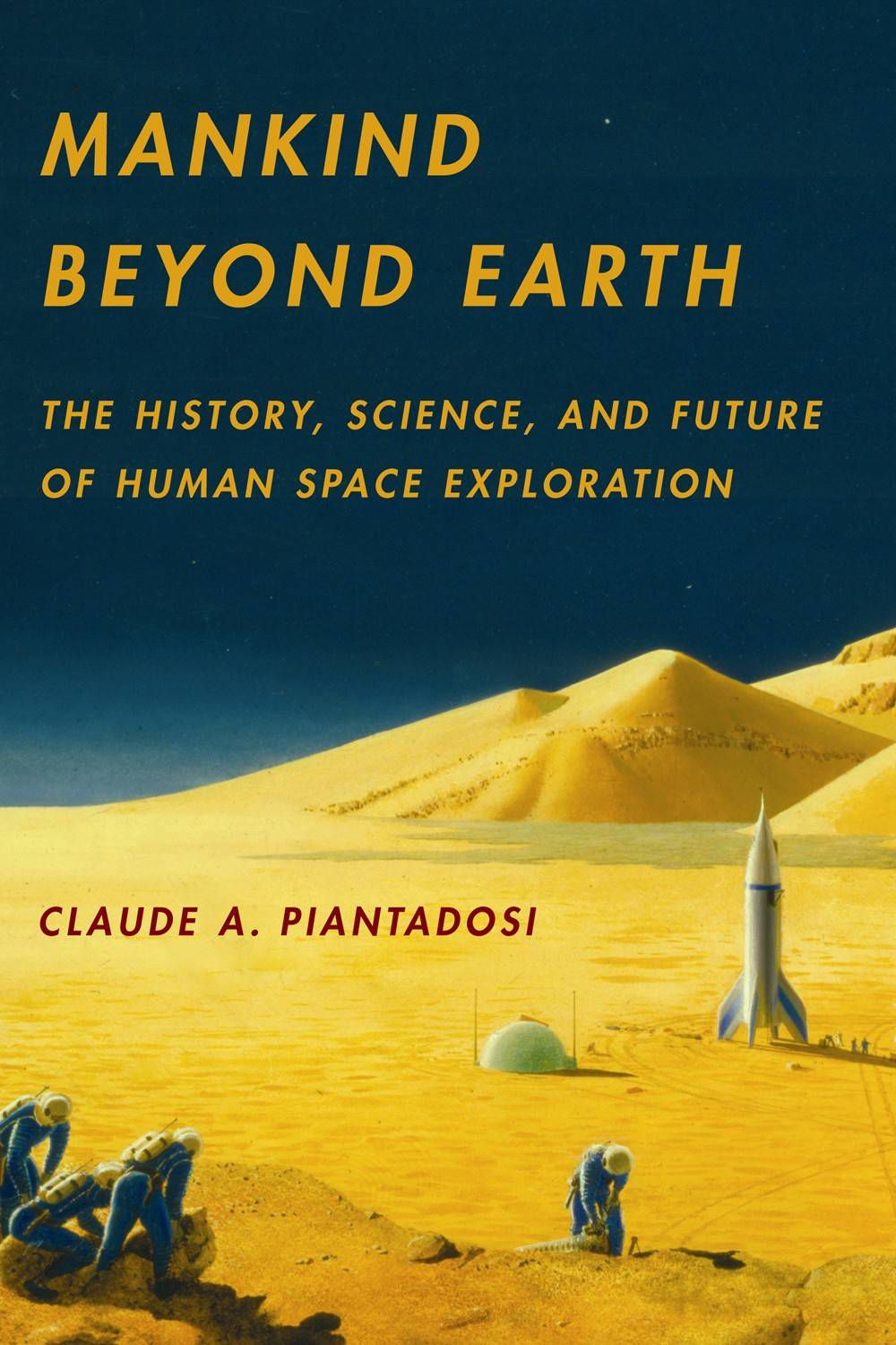 Mankind beyond Earth cover