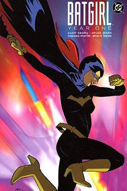 Cover of Batgirl Year One, art by Marcos Martin