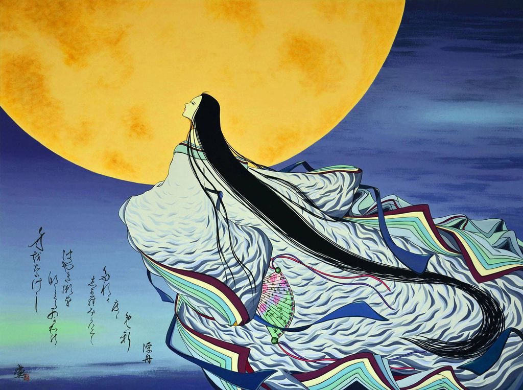 Tale of Genji Known to the Moon