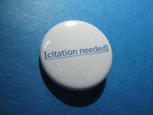Citation Needed Button