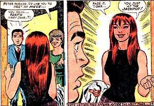 mary jane from spiderman