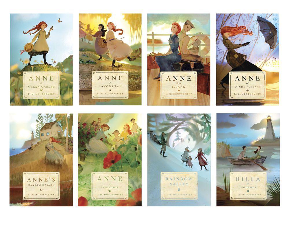 anne of green gables paperbacks