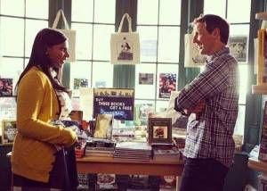 Mindy Project Bookstore