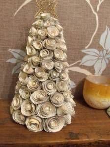 paper flower christmas tree