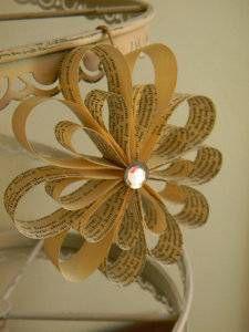 paper ornament flower