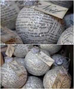 paper ornaments decoupage