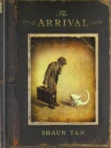 the cover of the arrival