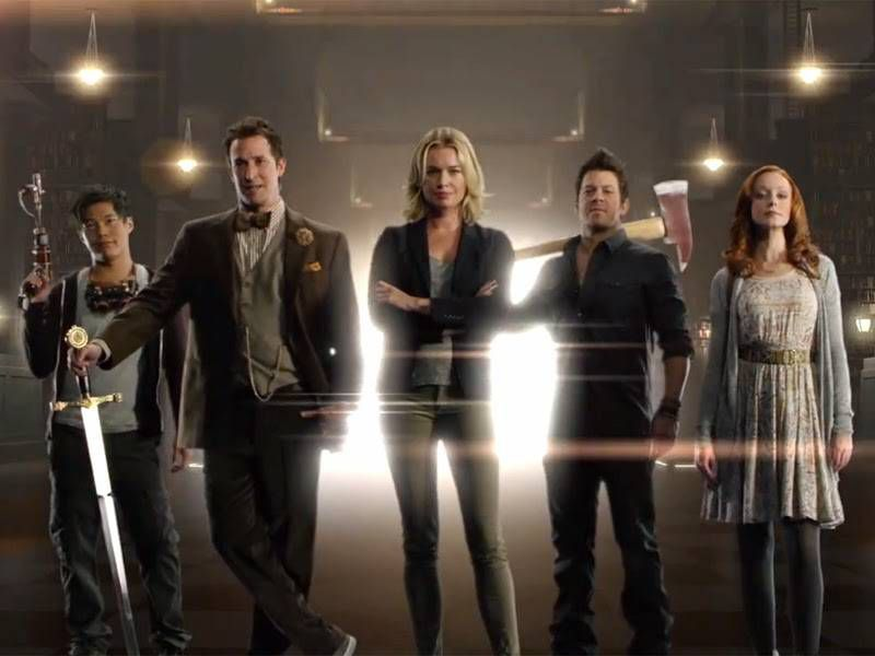 the librarians tv show