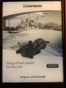 Swimming Pool Pump ad from Kindle with Special Offers