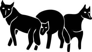 Graywolf publisher logo design