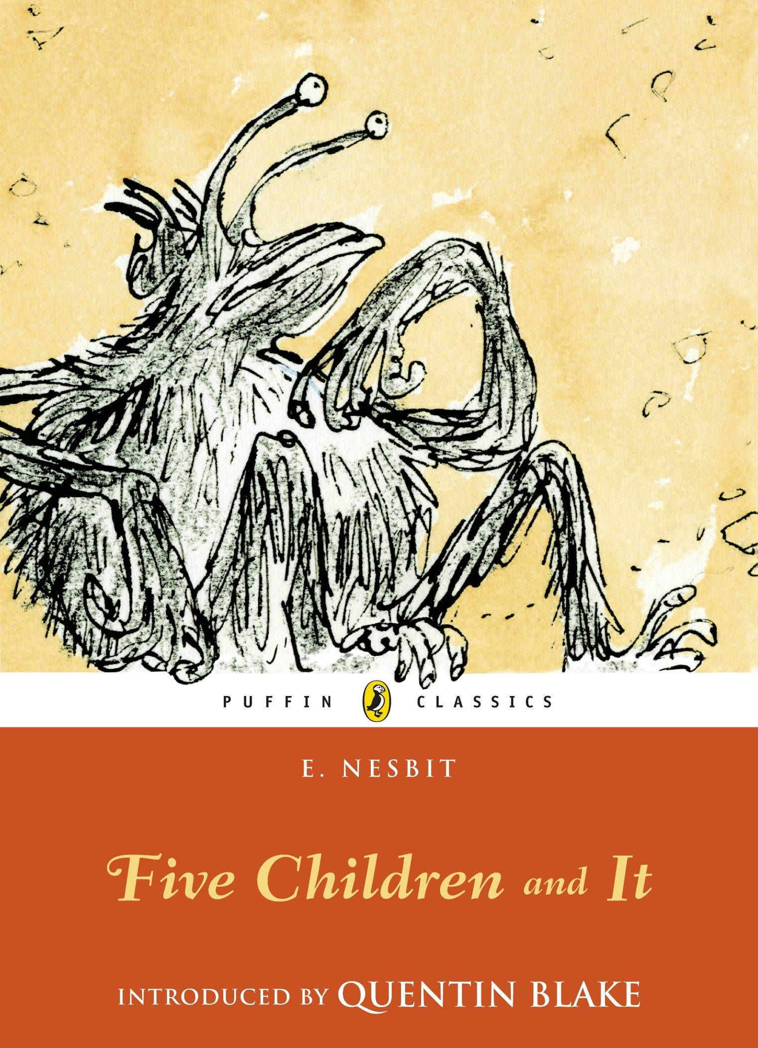 Cover of E Nesbit Five Children and It feminist genre fiction