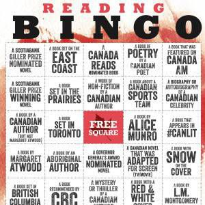 Reading Bingo by Random House Canada