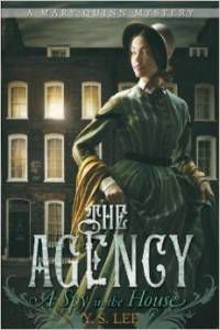 Cover of The Agency feminist genre fiction