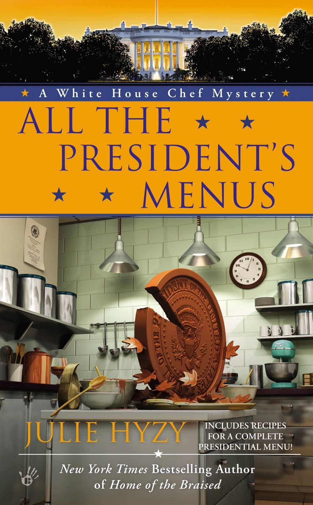 all the president's menus - julie hyzy