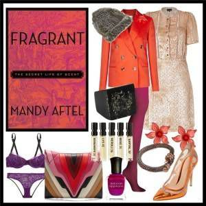 Book Style for Mandy Aftel's FRAGRANT: THE SECRET LIFE OF SCENT