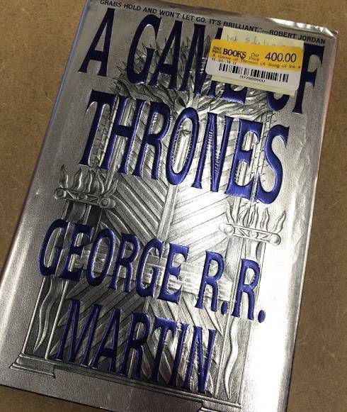 game of thrones 1st edition