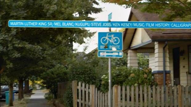 portlandia street sign name