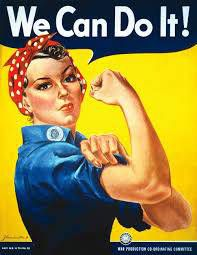 Rosie the Riveter We Can Do It! vintage poster