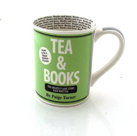 tea and book mug