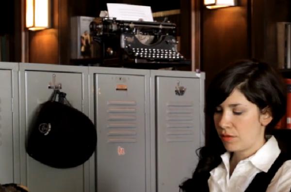 vintage typewriter deuce hotel