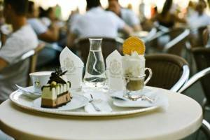 Cafe at Cafe Florian, Venice Italy