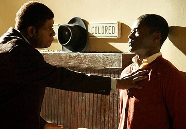 Forest Whitaker and David Oyelowo in The Butler