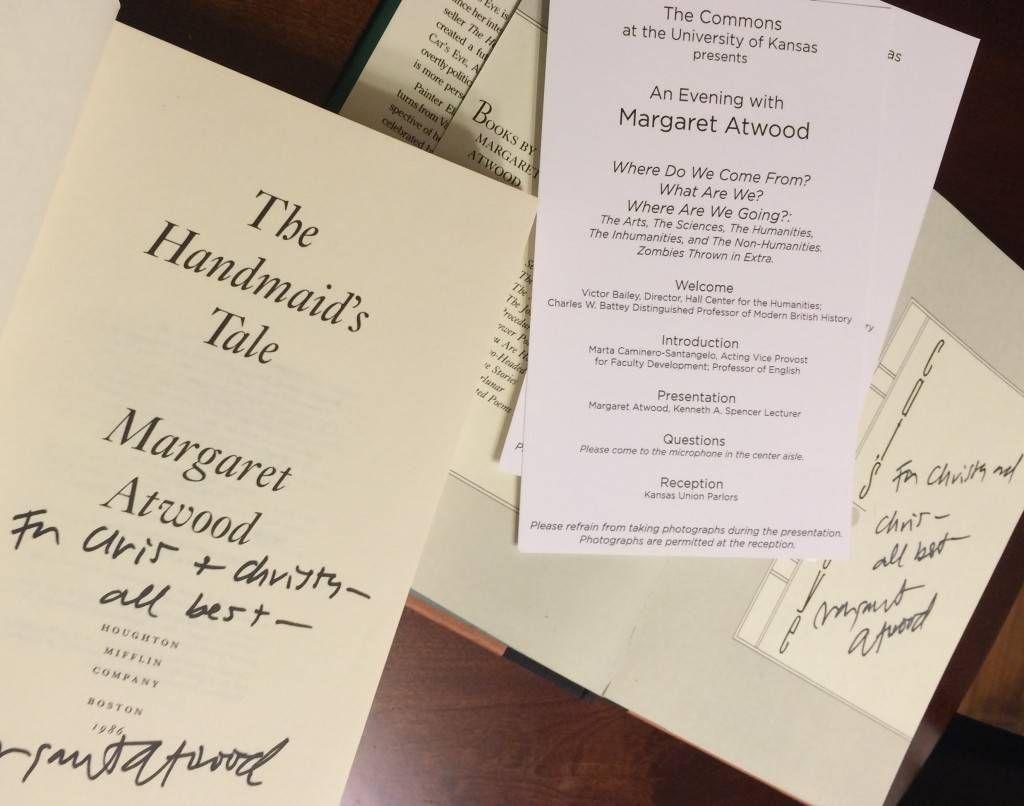 Margaret Atwood Signatures