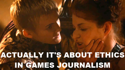 ethics in games journalism joffrey