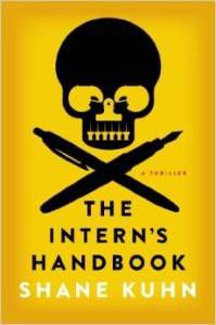 book cover for The Intern's Handbook by Shane Kuhn